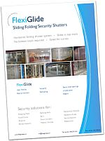 FlexiGlide sliding folding shutter brochure