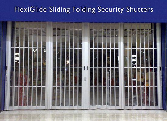 Sliding Security Shutters : Anatomy flexiglide sliding shutter